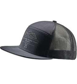 Haglöfs Trucker Cap [True Black/Slate]