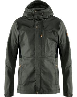 Fjällräven Kaipak Jacket Men [Dark Grey/Black]