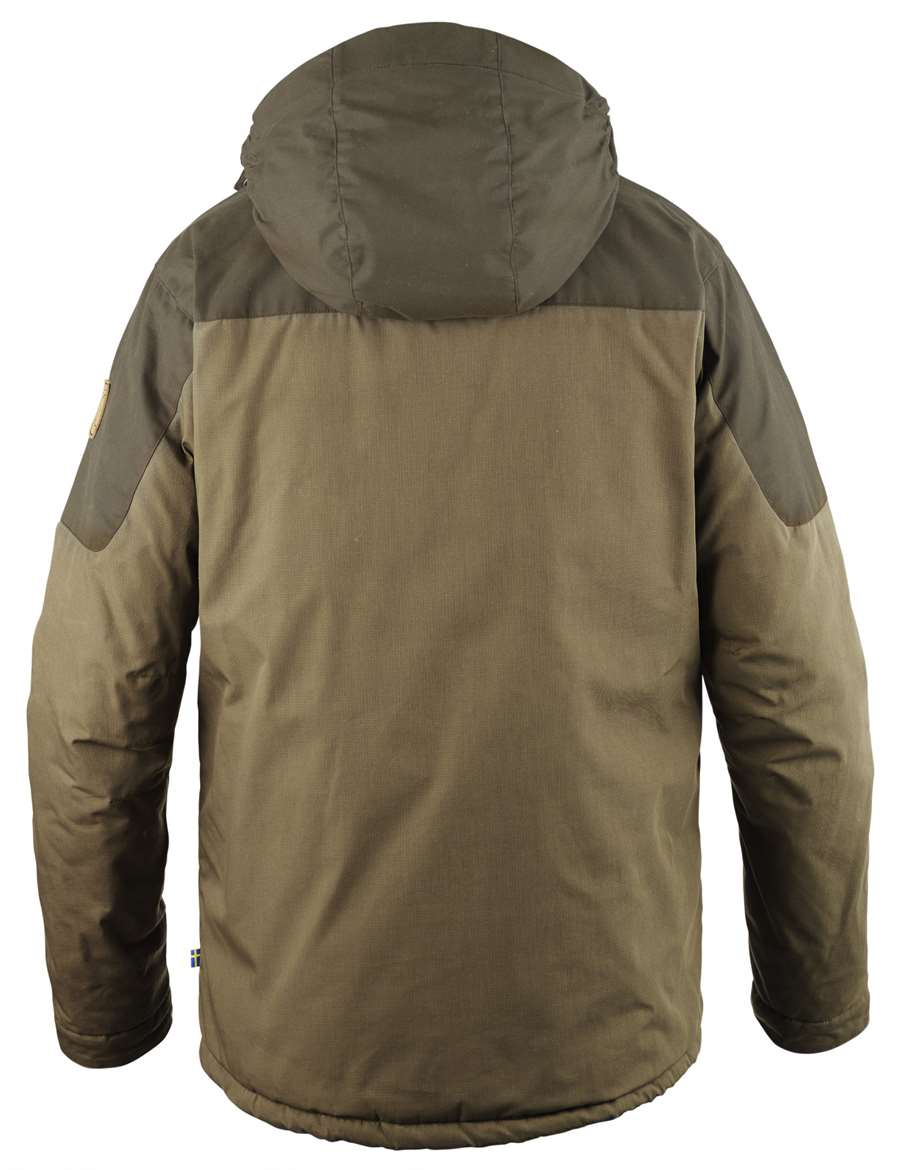 sold worldwide exclusive shoes online retailer Fjällräven Skogsö Padded Jacket Men [Tarmac/Dark Olive]