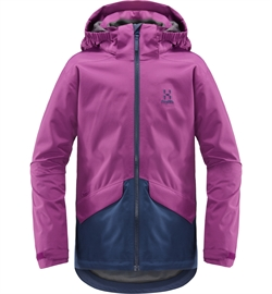 f258819823a Haglöfs: Mila Jacket Junior [Lilac/Tarn Blue]