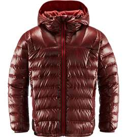 Haglöfs Bivvy Reversible Hood Junior - Maroon Red/Brick Red