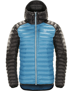 Haglöfs Essens Mimic Hood Women - Blue Fox/Slate