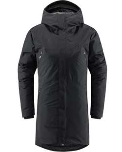 Haglöfs Furudal Down Parka Women - True Black