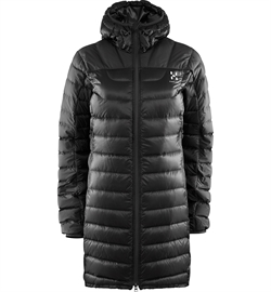 Haglöfs: Bivvy II Down Parka Women [True Black]