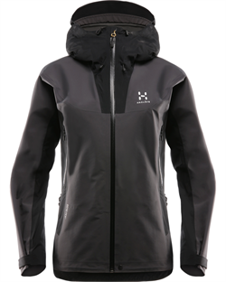 Haglöfs: Kabi (K2) Jacket Women [True Black/Magnetite]