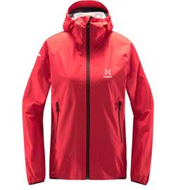 Haglöfs L.I.M Proof Multi Jacket Women - Hibiscus Red