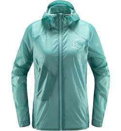Haglöfs L.I.M Shield Comp Hood Women - Glacier Green