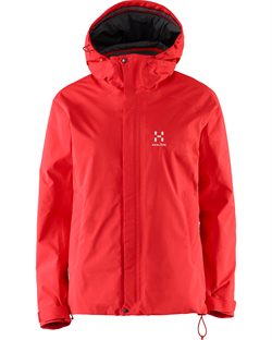 Haglöfs: Stratus Jacket Women [Real Red]
