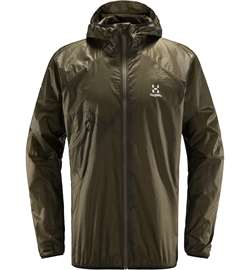 Haglöfs L.I.M Shield Comp Hood Men - Sage Green