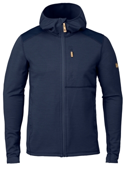 Fjällräven Keb Fleece Hoodie Men [Storm/Night Sky]
