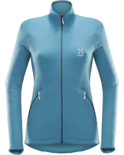 Haglöfs: Bungy Jacket Women [Blue Fox]