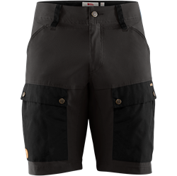 Fjällräven Keb Shorts [Black/Stone Grey]