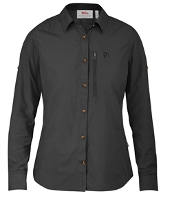 Fjällräven Abisko Hike Shirt LS Women [Dark Grey]