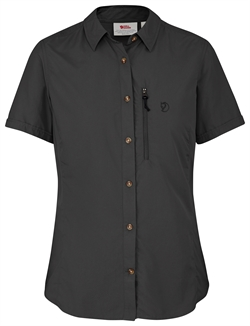 Fjällräven Abisko Hike Shirt SS Women [Dark Grey]