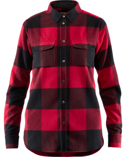 Fjällräven Canada Shirt Women [Red]