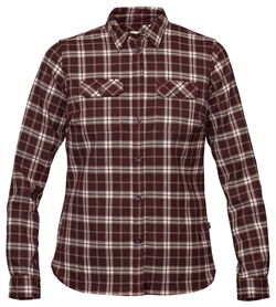 Fjällräven: Fjällglim Stretch Shirt LS Women [Dark Garnet]