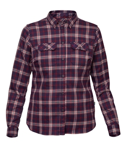 Fjällräven: Fjällglim Stretch Shirt LS Women [Alpine Purple]