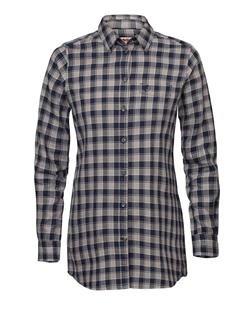 Fjällräven: High Coast Flannel Shirt LS Women [Night Sky/Fog]