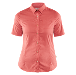 Fjällräven High Coast Stretch Shirt SS Women [Dahlia]