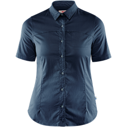 Fjällräven High Coast Stretch Shirt SS Women [Navy]