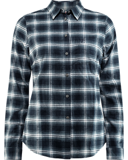 Fjällräven Övik Flannel Shirt Women [Dark Navy]