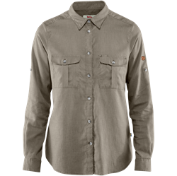 Fjällräven Övik Travel Shirt LS Women [Fog]