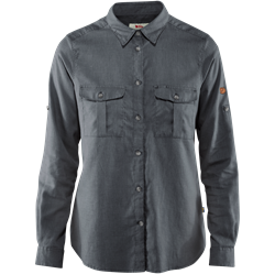 Fjällräven Övik Travel Shirt LS Women [Dusk]