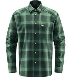 Haglöfs Tarn Flannell Shirt Men - Fjell Green/Trail Green