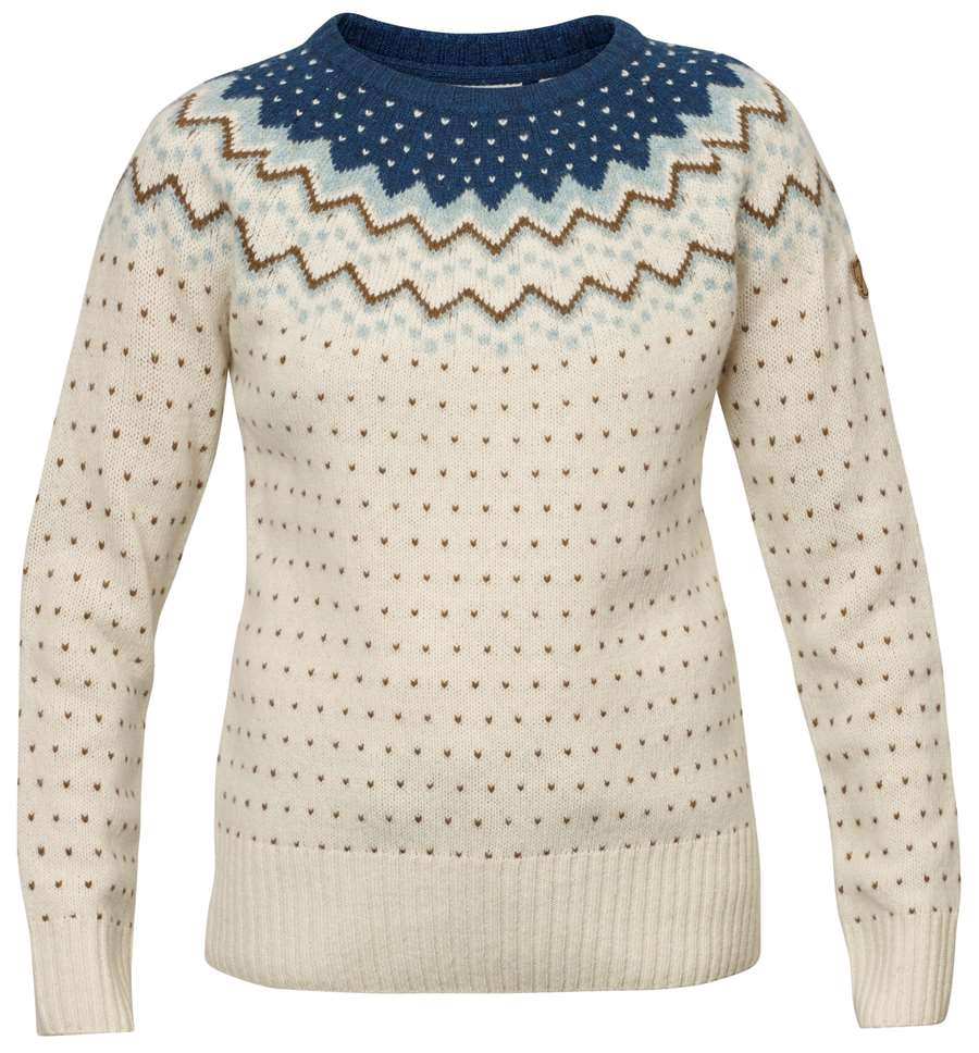 Fjällräven Övik Knit Sweater Women [Glacier Green]