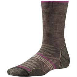 Smartwool: Women's PhD Outdoor – Taupe [Light Crew]