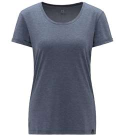 Haglöfs Ridge Hike Tee Women - Dense Blue