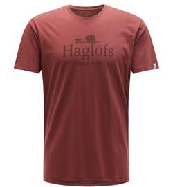 Haglöfs Camp Tee Men [Maroon Red]