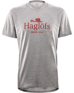 Haglöfs Camp Tee Men [Grey Melange]