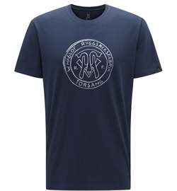 Haglöfs Camp Tee Men [Tarn Blue Logo]