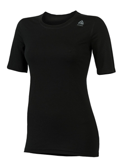 Aclima LightWool T-shirt Classic Woman [Black]