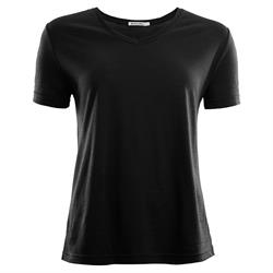 Aclima LightWool T-shirt Loose Fit Woman [Jet Black]