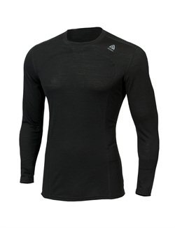 Aclima LightWool Crew Neck Man [Jet Black]