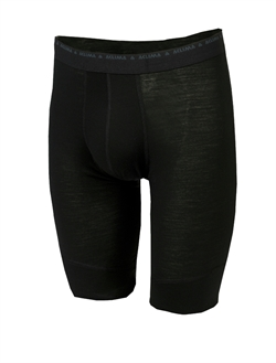 Aclima LightWool Long Shorts Man [Jet Black]