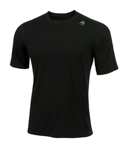 Aclima LightWool T-shirt Classic Man [Black]