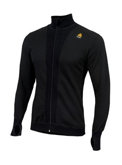 Aclima HotWool Unisex Light Jacket [230g] Jet Black