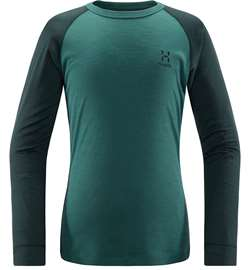 Haglöfs Actives Blend Roundneck Junior [Mineral/Willow Green]