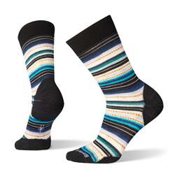 Smartwool: Women's Margarita Socks [Black/Deep Navy]