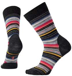 Smartwool: Women's Margarita Socks [Charcoal Stripe]
