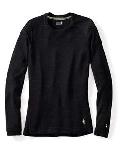 Smartwool: Women's Merino 250 Baselayer Crew [Black]
