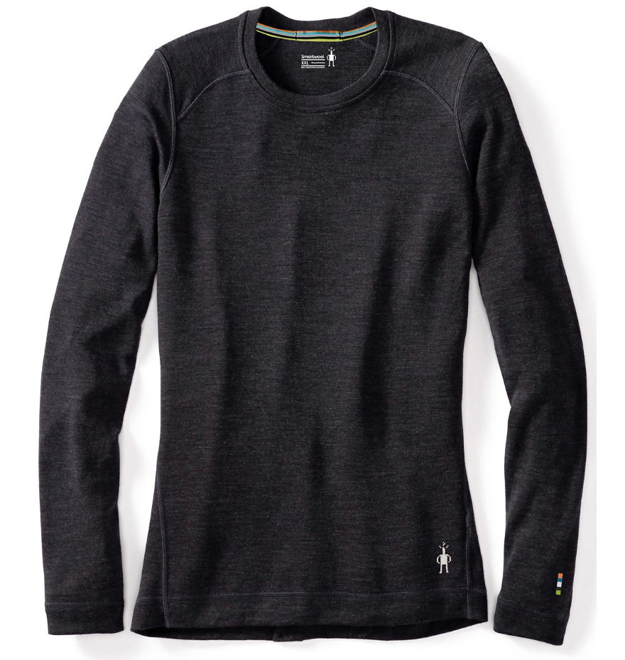 Smartwool: Women\'s Merino 250 Baselayer Crew [Charcoal Heather]