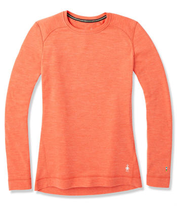 Smartwool: Women\'s Merino 250 Baselayer Crew [Light Habanero Heather]