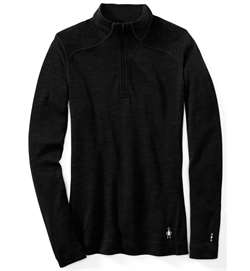 Smartwool: Women's Merino 250 Baselayer 1/4 Zip [Black]