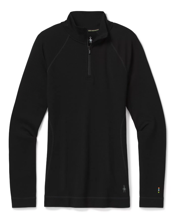 Smartwool Women\'s Merino 250 Baselayer 1/4 Zip [Black]