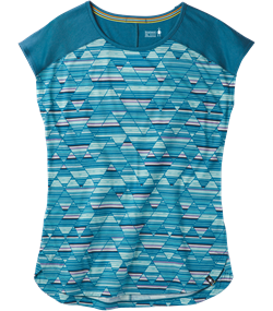 Smartwool Women's Merino 150 Tee [Light Marlin Blue]