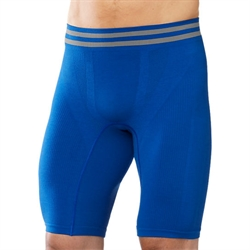 Smartwool: Men's PhD Seamless Boxer Brief [150g] - Bright Blue